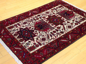 Oriental Tribal Traditional Design Handmade Lovely Handknotted Real Wool Amazing Unique Rug