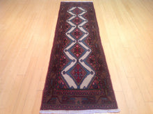 Load image into Gallery viewer, Fine Oriental Persian Traditional Tribal Runner-Rug 100-Percent Wool Handmade