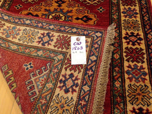 Load image into Gallery viewer, Fine Super Kazak Tribal Handmade Hand-Knotted 100-Percent Wool Runner-Rug