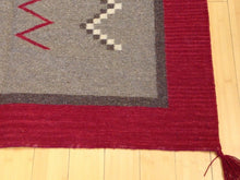 Load image into Gallery viewer, Reversible Southwestern Design Dhurrie Artisan Handwoven Kilim Real Wool Amazing Unique Rug