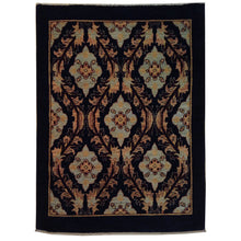Load image into Gallery viewer, Hand-Knotted Fine Tribal Peshawar Chobi Oushak Design Wool Rug (Size 3.4 X 4.11) Brral-432