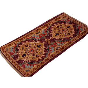Stunning Interior-Decorator Traditional Peshawar Chobi Lovely Handmade Best Handknotted Real Wool Rug