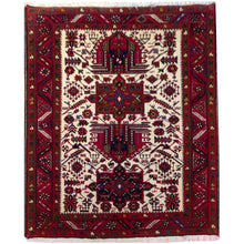 Load image into Gallery viewer, Hand-Knotted Oriental Tribal Traditional Design Handmade Wool Rug (Size 3.10 X 5.5) Brral-4713