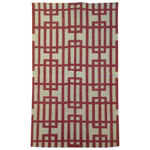 Load image into Gallery viewer, Hand-Woven Modern Reversible Dhurrie Kilim Handmade Wool Rug (Size 3.0 X 5.2) Brral-5115