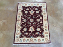 Load image into Gallery viewer, Hand-Knotted Floral Design Handmade Wool Peshawar Rug (Size 2.2 X 3.0) Brrsf-1671