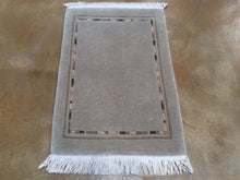 Load image into Gallery viewer, Hand-Knotted Gabbeh Napile Design Handmade Wool Rug (Size 2.1 X 3.3) Brrsf-1674