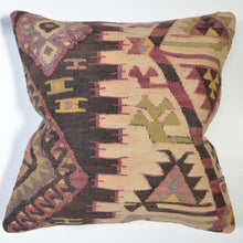 Load image into Gallery viewer, Southwestern Style Hand-Woven Kilim Pillow Cover Brpal-144