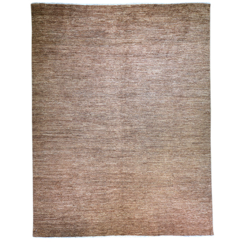Hand-Knotted Tribal Peshawar Gabbeh Design Wool Rug (Size 7.9 X 9.10) Brral-6342