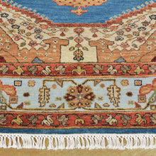 Load image into Gallery viewer, Hand-Knotted Bakshaish Oriental Design Handmade Wool Rug (Size 5.2 X 6.11) Brral-765