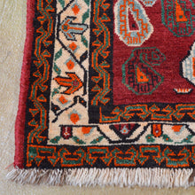 Load image into Gallery viewer, Hand-Knotted Vintage Persian Hamadan Authentic Wool Rug (Size 4.4 X 7.0) Brral-828