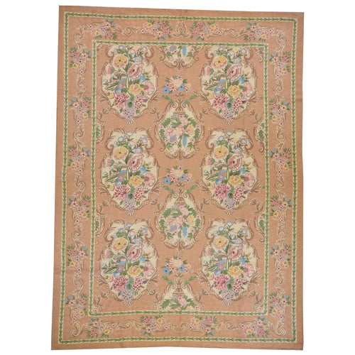 Chain-Stitched Fine India Handmade Wool Rug (Size 6.0 X 9.0) Brrsf-6162