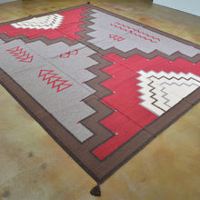 Load image into Gallery viewer, Hand-Woven Southwestern Design Handmade Wool Rug (Size 8.1 X 10.0) Brrsf-1611