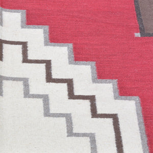 Hand-Woven Southwestern Design Handmade Wool Rug (Size 8.1 X 10.0) Brrsf-1611
