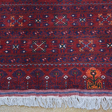 Load image into Gallery viewer, Hand-Knotted Turkmen Handmade Tribal Traditional Afghan Rug (Size 6.6 X 9.8) Brrsf-2151
