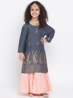 Kurti and Palazzo set for girl