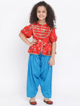 Top And Salwar set for girl