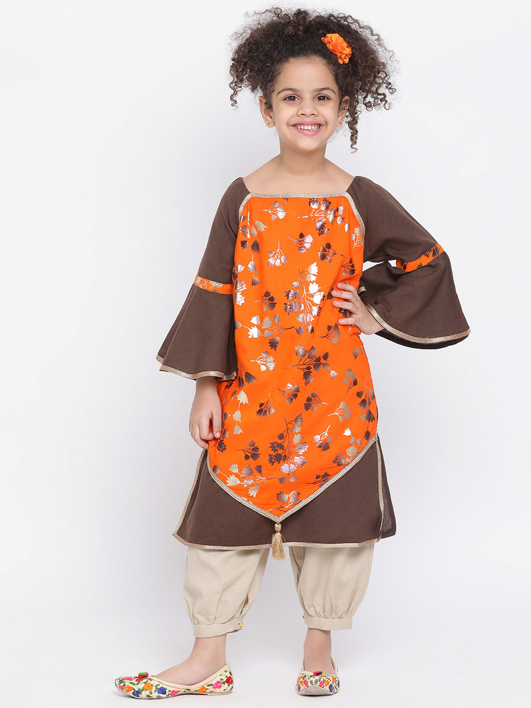 Kurti and salwar set for girl