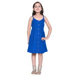 Matilda Royal Blue Dress for Girls