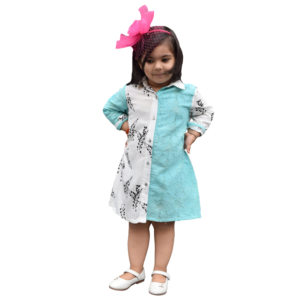 Wilma Shirt Dress for Girls