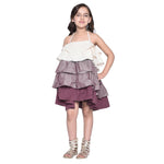 Delicia5 Red designer Frock for Girls