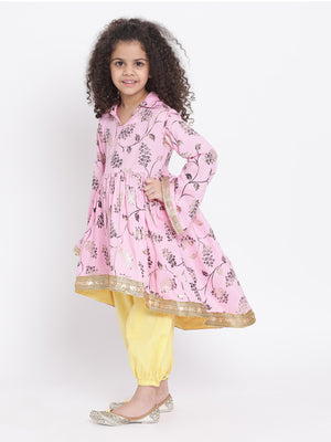 Vineeta  Kurta with haram pants set for Girls