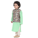 Adnan Green kurta Pajama Set for boys