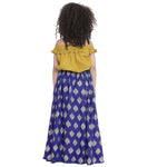 Sarah Royal Blue Lehenga Choli set for Girls