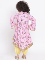 Kurta with haram pants set for Girls