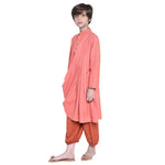 Pablo Red Kurta & Pajama Set for Boys