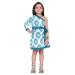 Afraa-1 Blue Frock for Girls