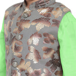 Adnan Light Green kurta Pajama Set for boys