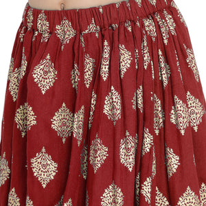 red Lehenga Choli set for Girls