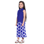 Luciana Royal Blue Shirt & Palazzo Set for Girls