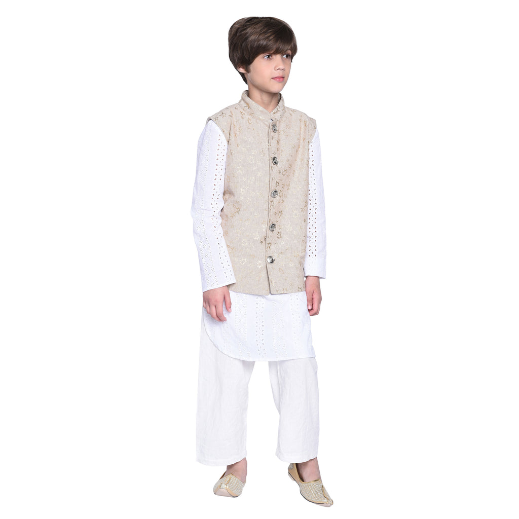 Adelmo Kurta  Pajama with Jacket