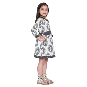 Afraa-1 Frock for Girls