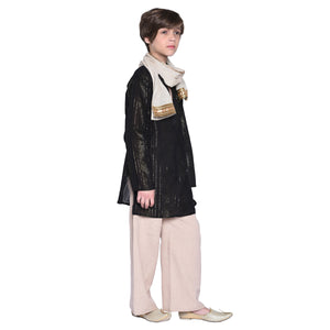 Alrik Ethnic Kurta Pajama with Stole for Boys