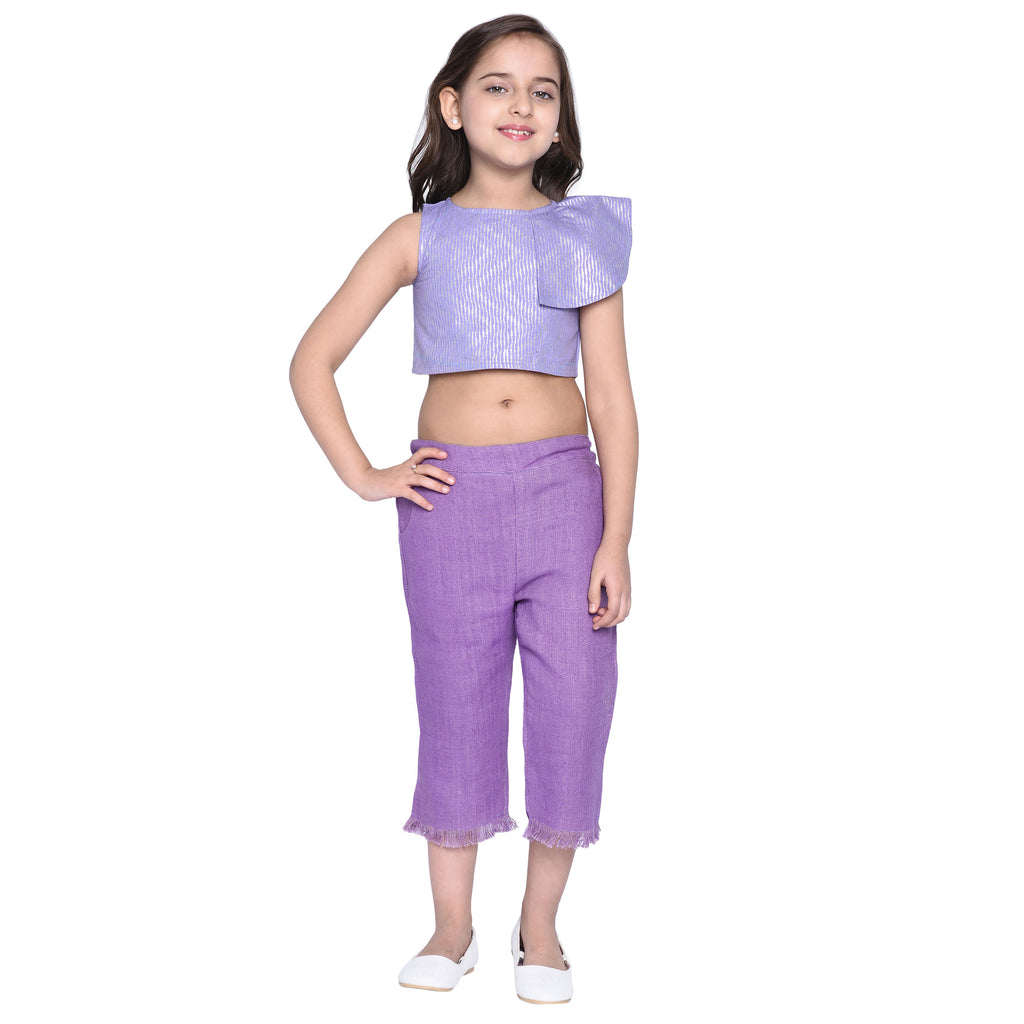 Celia Crop top & Capris for Girl