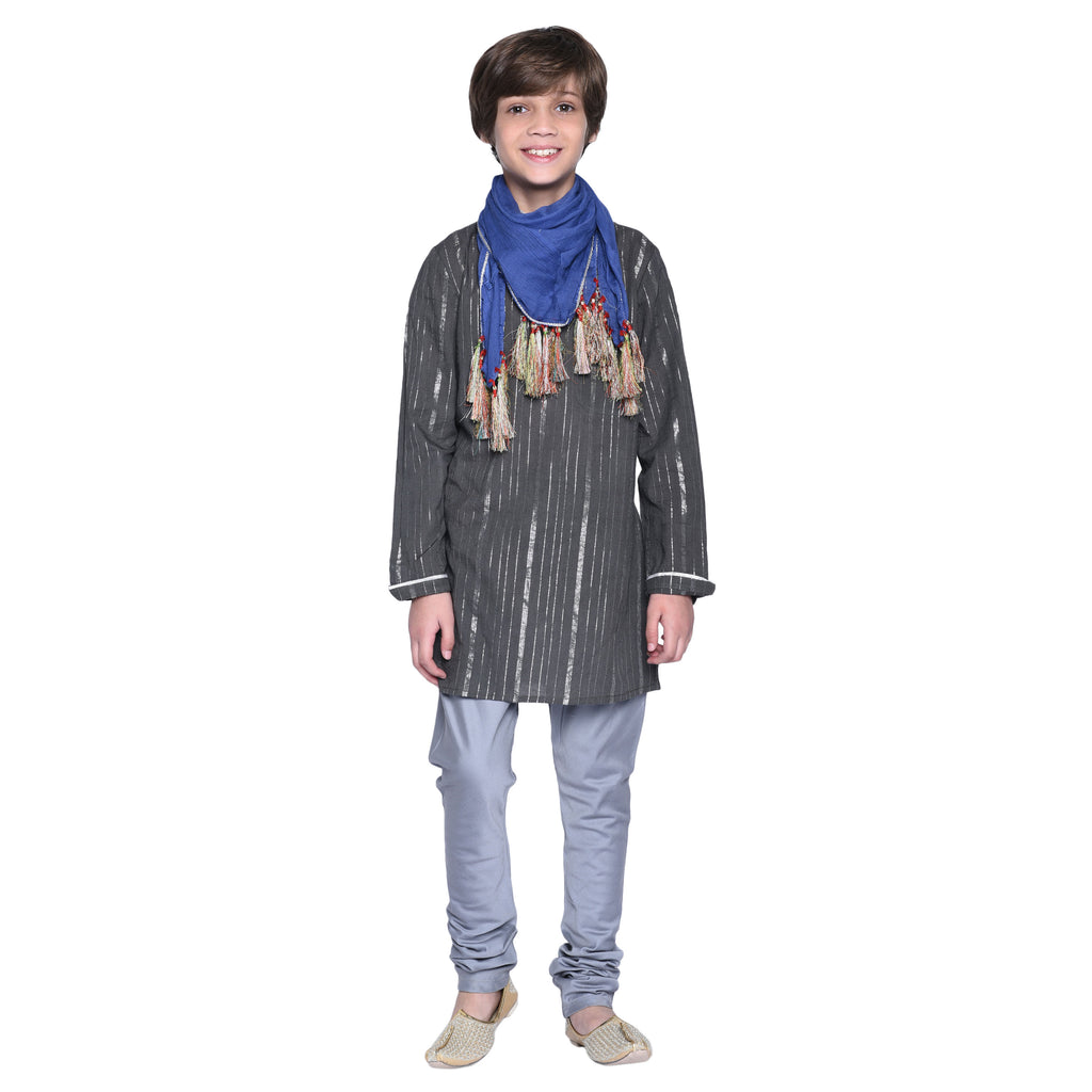 Dain Kurta and Pajama with Stole for Boys