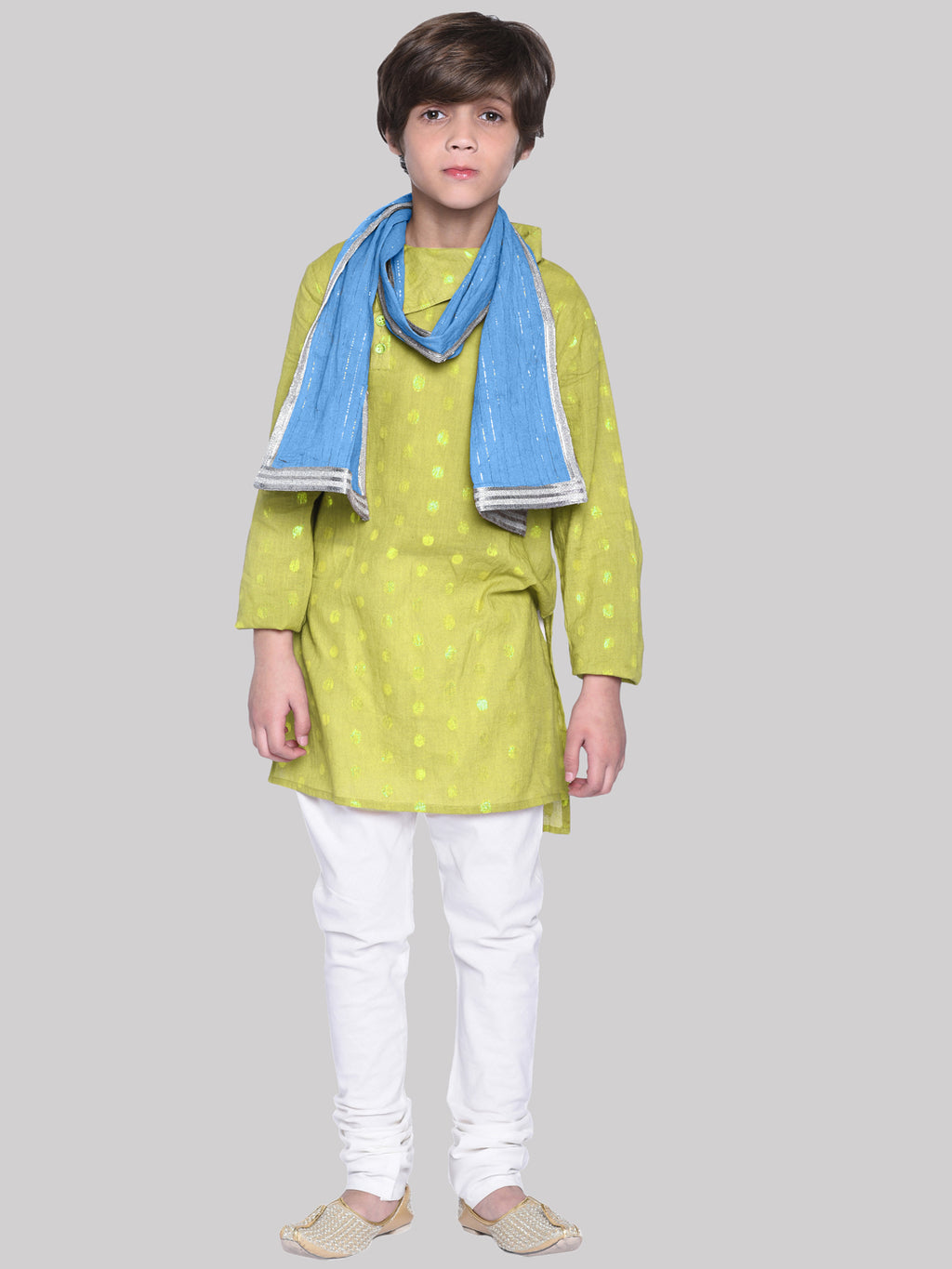 Dex Yellow Kurta Pajama For Boys