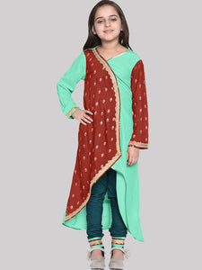 Elica Multi Designer Dress For Girl