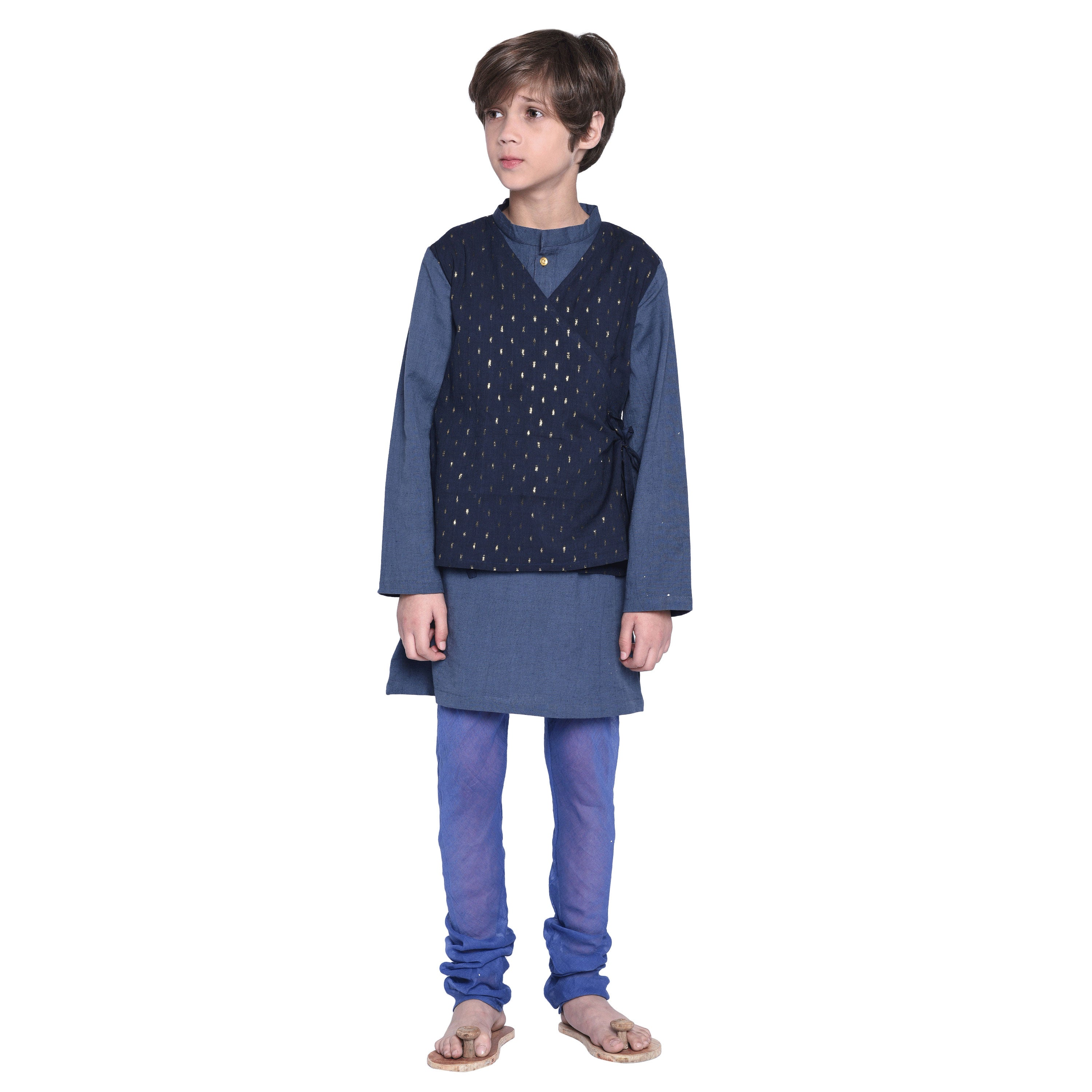 Franz Kurta & Pajama with Jacket Set for Boys