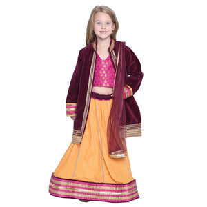 Gefion Designer Lehenga Choli for Girls