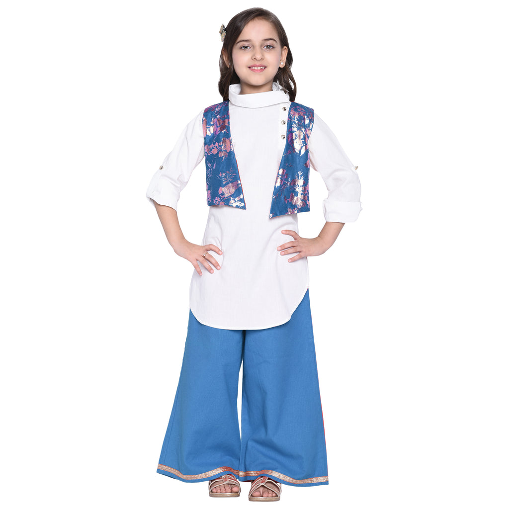 Isabella stylish Kurta Palazzo Set For Girls