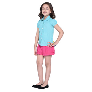 Johanna Shirt & Shorts Set for Girls