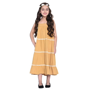 Layla Dress & Shrug Set for Girls