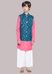 Matteo Multi Kurta Pajama Set For Boys