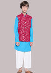 Matteo Multi 1 Kurta Pajama set for boys