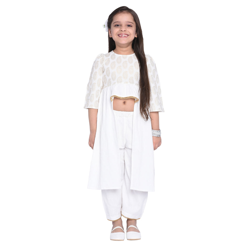 Nicasia Kurti & Palazzo Set for Girls
