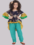 Ragini Sky Blue Kurta with Pajama set for Girls