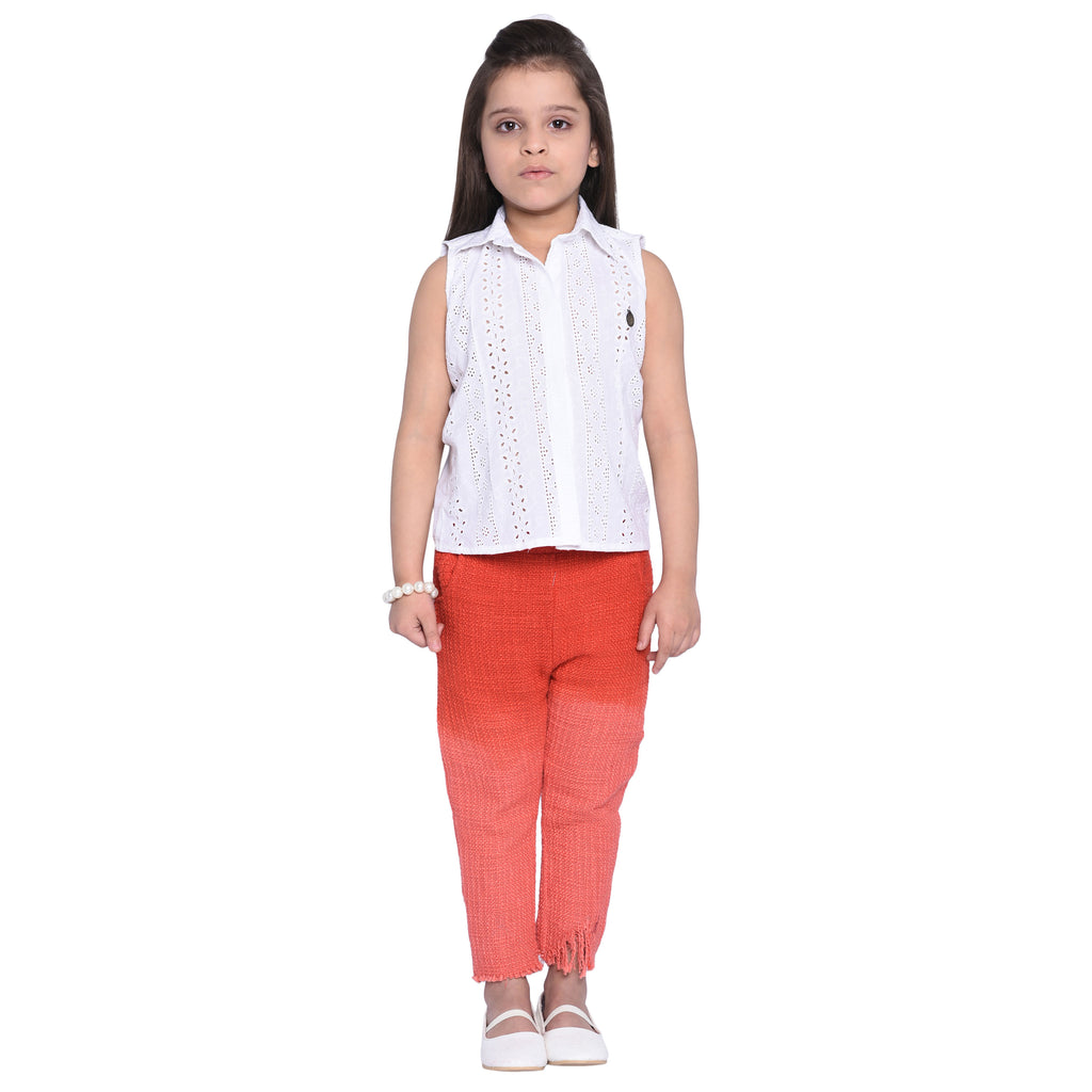 Raisa Shirt & Pant Set for Kid Girls age 2-12 years